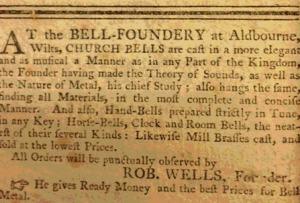 aldbourne bells newspaper - ready