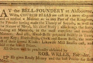 aldbourne bells newspaper - ready