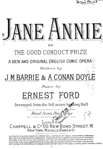 Ernest Ford composed the music for this comic opera, written by J.M Barrie and Arthur Conan Doyle