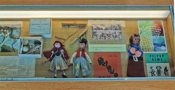 Pelham puppets display low res