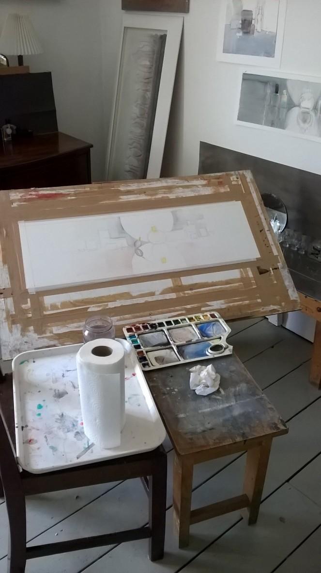 Janet's studio
