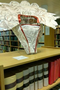 Piece based on 17th century maps held by Wiltshire Local Studies
